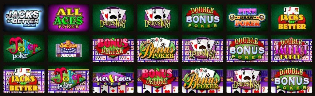 В казино Play Fortune есть несколько версий видео-покера