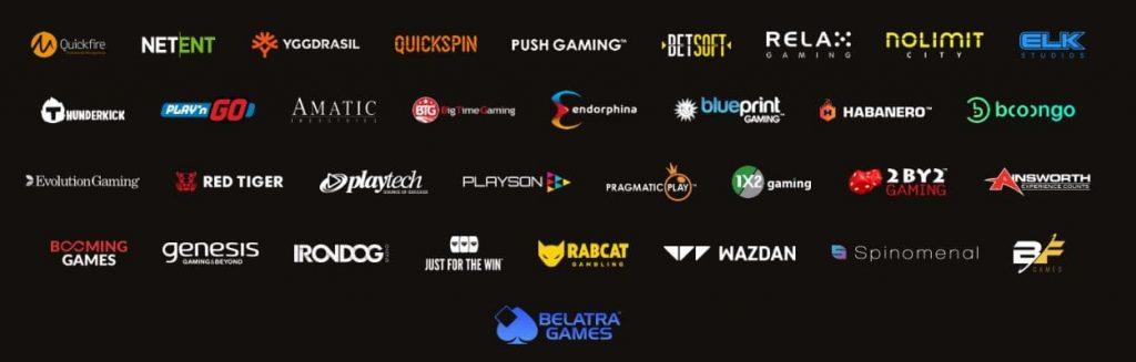 В коллекции Fortunaплей казино представлен софт от известных брендов